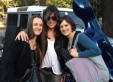 Mariana Atamas, Maggie Ferguson and Claudia Sereni in La Plata.