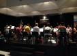 Orquesta Escuela De Tango Emilio Balcarce 2014 rehearsing at La Casa Del Tango.