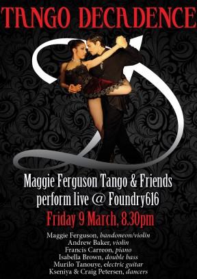 Tango Decadence Poster